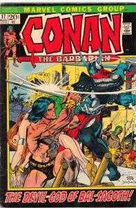 Conan the Barbarian #17 (Aug-72) VF/NM High-Grade Conan the Barbarian