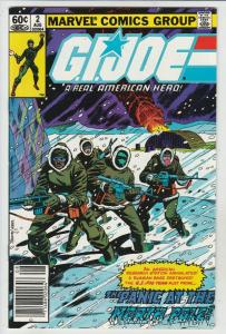 G.I. Joe #2 (Aug-82) NM- High-Grade G.I. Joe