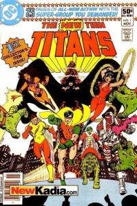 New Teen Titans (1984 series) #1, NM (Stock photo)