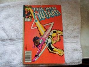1984 MARVEL COMICS THE NEW MUTANTS # 17