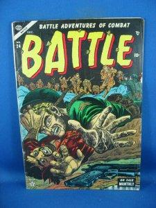 BATTLE 24 VG ATLAS 1953