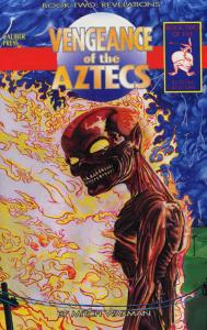 Vengeance of the Aztecs #2 VF/NM; Caliber | save on shipping - details inside