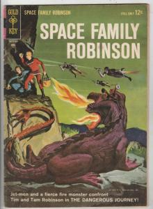 Space Family Robinson, Lost In Space #7 (Apr-64) FN Mid-Grade Will Robinson, ...