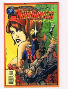Mike Danger #1 NM Tekno Comix Comic Book Mickey Spillane Collins DE28