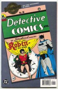Millennium Edition: Detective Comics #38- reprints 1st Robin