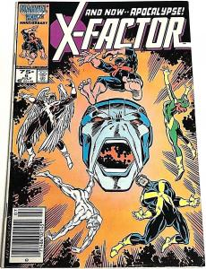 X-FACTOR#6  FN 1986 FIRST APOCALYPSE MARVEL COMICS