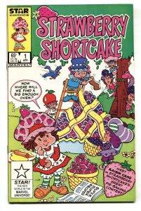 Strawberry Shortcake #1 comic book 1985- Star comics 1st issue NM-