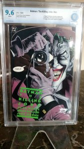 Batman: The Killing Joke #nn First Printing (DC, 1988) CBCS NM+ 9.6 White pages