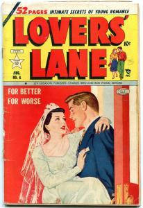 Lovers' Lane #6 1950- Golden Age Romance- George Tuska- Fred Kida VG