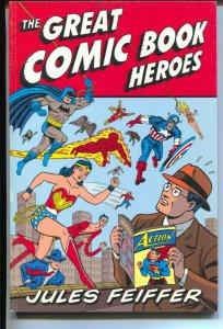 Great Comic Book Heroes-Jules Feiffer-2003-PB-VG/FN