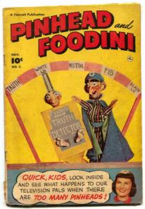 Pinhead and Foodini #3 1951- Fawcett humor comic G