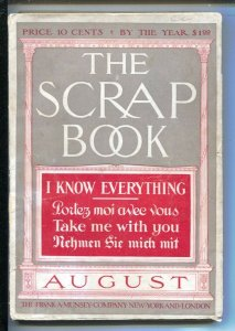 Scrap Book 8/1909-Munsey-Genius Lured By Drugs-Clairvoyants and Wall Street-L...