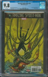 Amazing Spider-Man #27 CGC Graded 9.8 Norman Osborn & Silver Sable appearance