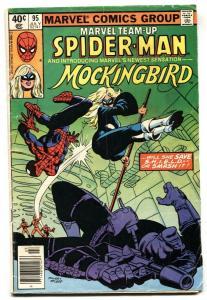 MARVEL TEAM-UP #95 First appearance MOCKINGBIRD-bargain copy