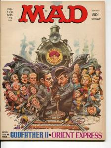 Mad-Magazine-#178-Oct-1975-Mort Drucker-Don Martin-David Berg-VF