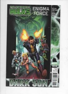 HULK Enigma Force #1, NM, Dark Son, Munera, Marvel, 2010, more Hulk in store