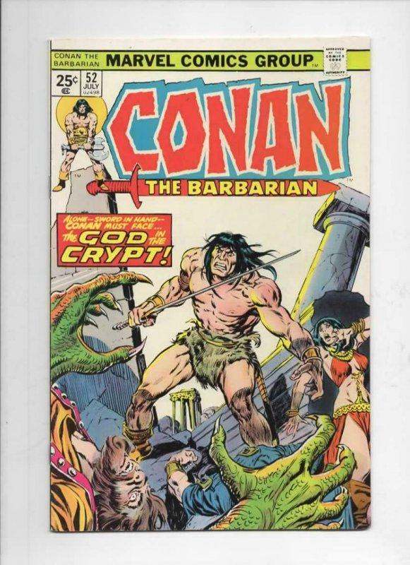 CONAN the BARBARIAN #52 VF/NM, Buscema, Tom Palmer, Howard, 1970 1975