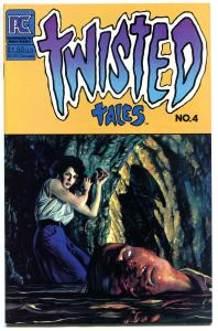 TWISTED TALES #4, VF+, Monsters, Horror, Murder, 1983, Lomax, Pacific Comics