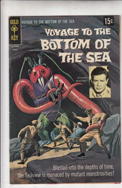 Voyage to the Bottom of the Sea #13 (Aug-68) VF+ High-Grade