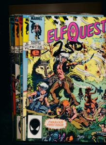 MARVEL Comics LOT of 18! ELF QUEST #1-2,#4-7,#10-13,#15-17,#19-23,#28 (HX864)