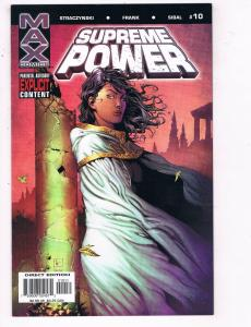 Supreme Power #10 FN Max Comics Comic Book Straczynski 2004 DE35