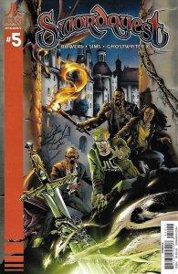 Swordquest (Dynamite) #5B VF/NM; Dynamite | save on shipping - details inside