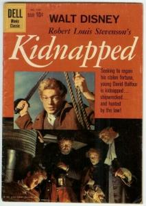 KIDNAPPED (1960 GOLD KEY) F.C.1101 VG- PHOTOCOVER COMICS BOOK