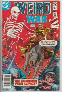 Weird War Tales #87 (May-80) VF High-Grade