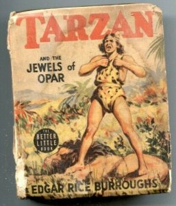 Tarzan and the Jewels of Opar Big Little Book 1940