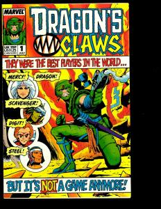 Lot of 9 Marvel Comics Dragon's Claws 2 1 Dr Strange 67 Thrill Book 2 +++++ JF10
