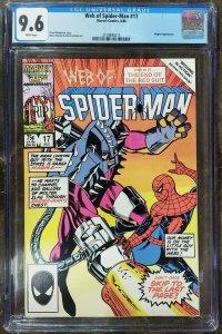 Web of Spider-Man 17 CGC 9.6 Marvel 1986