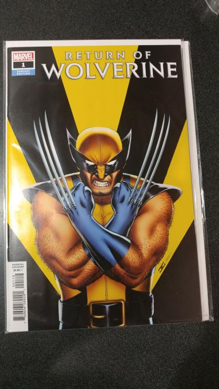 Return of Wolverine #1 John Cassady Variant Marvel Comics