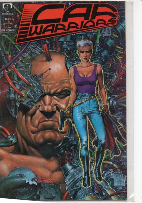 CAR WARRiORS #2, NM, Steve Dillon, Epic, 1991, more in store