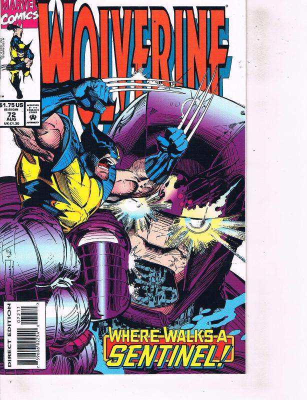 Lot Of 2 Marvel Books Wolverine #72 and #71  Ironman  ON2