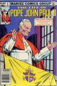 Life of Pope John Paul II #1, VF (Stock photo)