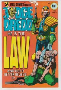Judge Dredd #1 (Nov-83) VF/NM High-Grade