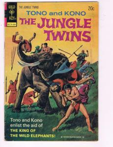 Tono & Kono The Jungle Brothers #9 VG Dell Gold Key Comic Book 1974 DE7
