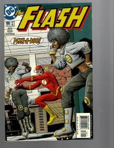 12 DC Comics The Flash #180 181 183 186 188 192 201 203 204 205 206 207 J439