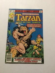 Tarzan 1 .35 Cent Vaiant VF Very Fine 8.0