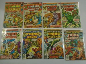 Marvel Two In One Comic Lot #5 - 50 (40 DIFF) AVG - 4.0 VG - 1974 - 1979