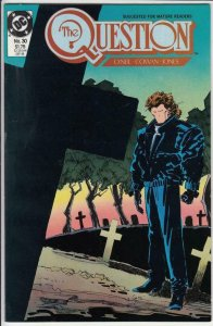THE QUESTION #30, VF/NM, O'neil, Cowan, DC, 1987 1989 more DC in store