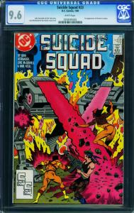 Suicide Squad #23 CGC 9.6 1989-1st Oracle - Modern Key- 0258585002