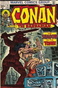 Conan the Barbarian (1970 series) #31, VF- (Stock photo)
