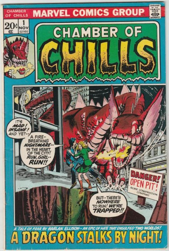 Chamber of Chills #1 (Nov-72) VF+ High-Grade