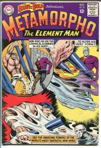 Brave and The Bold #57 1964-DC Comics-1st apperance & origin of Metamorpho-FN-