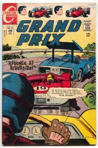 Grand Prix #18 1968-Charlton comics- Revenge at Riverside FN-