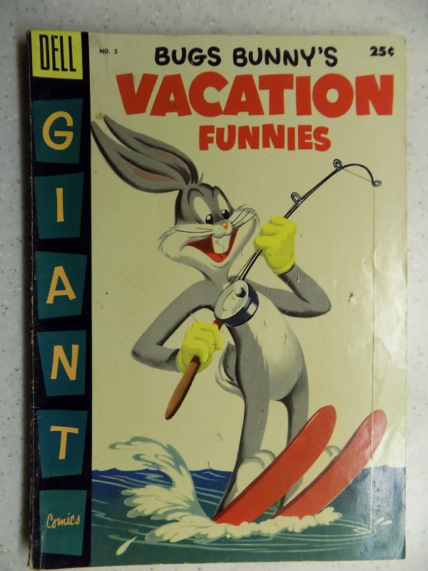 Bugs Bunny's Vacation Funnies #5 (1955)