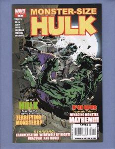 Monster-Size Hulk Special #1 VF Dracula Frankenstein Marvel 2008