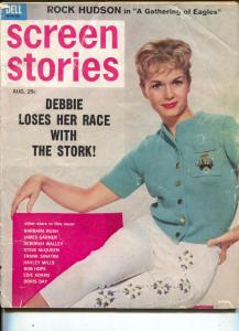 Screen Stories-Debbie Reynolds-Doris Day-Bob Hope-Steve McQueen-Aug-1963