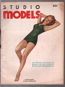 Studio Models-Fall 1943-Jackie Copeland-pin-up pix-swimsuits-lingerie-VG/FN